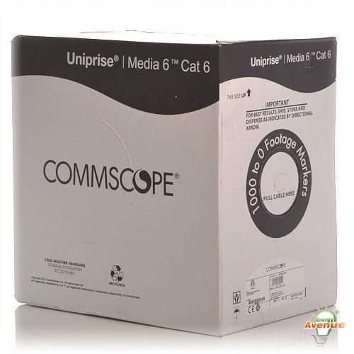 Commscope 6504 Blue Cpk Media Category 6 U Utp Cable